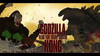 GODZILLA VS KONG WAR FOR SKULL ISLAND KAIJU MOMENTS #37