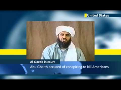 Bin Laden son-in-law on trial in New York: pleads not guilty to 9/11-related terror charges