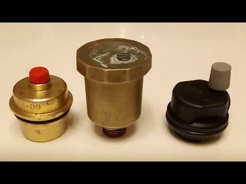 Воздушный клапан (воздухоотводчик) для котла - Устройство, профилактика, ремонт.