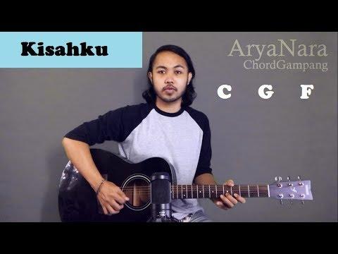 Chord Gampang (Kisahku -  Brisia Jodie) By Arya Nara (Tutorial Gitar) Untuk Pemula