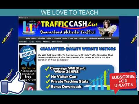 Traffic Cash List Scam Fake Or Real Legit, My Honest Review