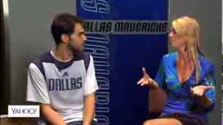 Dallas Mavericks Jose Calderon Interview: Yahoo Sports Radio - Elissa Walker Campbell