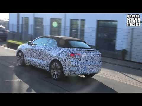 Volkswagen T-Roc Cabrio Covered In Camo Caught On Video