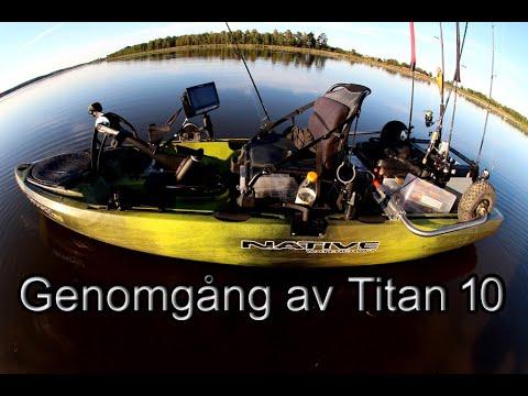 Genomgång Av Native Titan 105 Propel Från Native Sweden I östersund