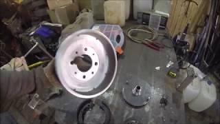 центробежное сцепление из тормознного барабана 2108