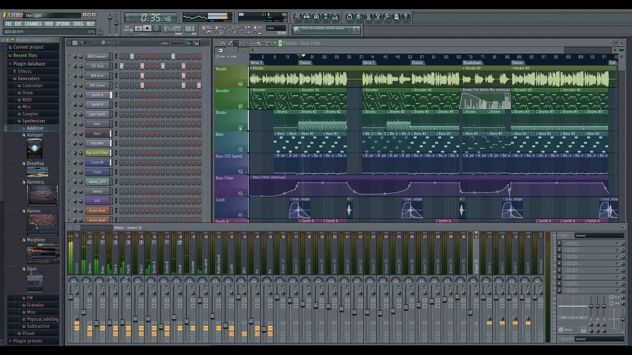 fl studio 12 crack only free download full version