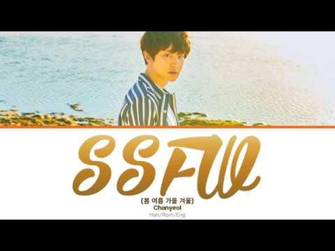 Chanyeol (찬열) - SSFW (봄 여름 가을 겨울) (Color-coded Lyrics) Han/Rom/Eng