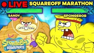 Download 🔴 SpongeBob SquareOff Marathon! | If SpongeBob Were a Fighting Arcade Game Live Stream