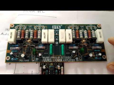 MEMBUAT POWER  AMPLIFIER PROFESIONAL PART. 2 ( SISTEM BTL )