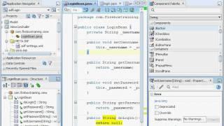 ADF Training - Oracle ADF 11g Security - Custom ADF Login Form - Part 1