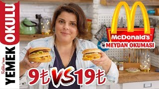 9₺ vs 19₺ McDonald's Challenge | Cheaper and Faster BigMac Recipe at Home