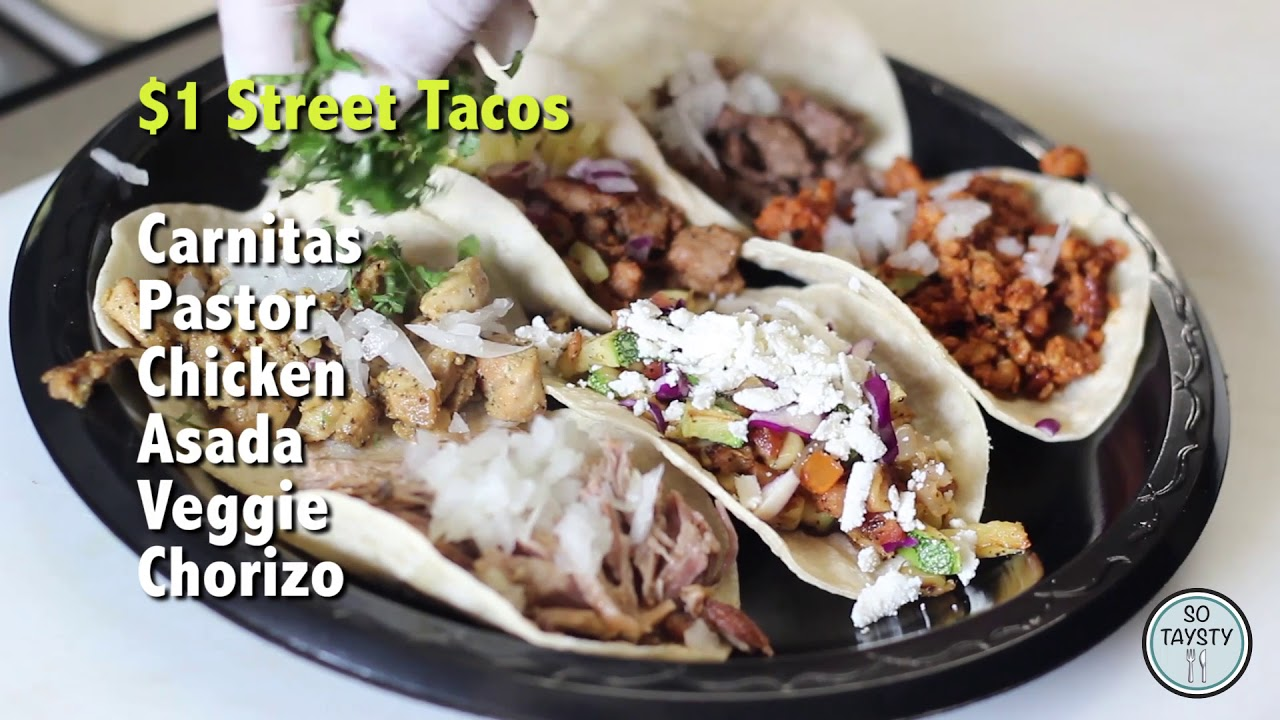 Spanglish Kitchen 1 Street Tacos And More So Taysty Youtube