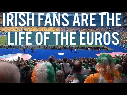 Irish Fans Are The Life of The Euros