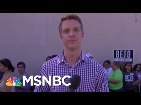 What Is Beto O'Rourke's Closing Message?   Velshi & Ruhle   MSNBC