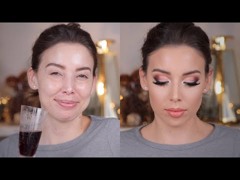 CHATTY GRWM- LETS DRINK WINE AND DO MAKEUP!