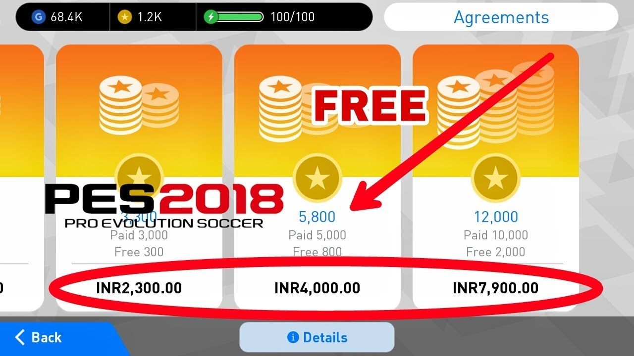 How to get pes 2018 mobile coins for free youtube how to get pes 2018 mobile coins for free ccuart Gallery