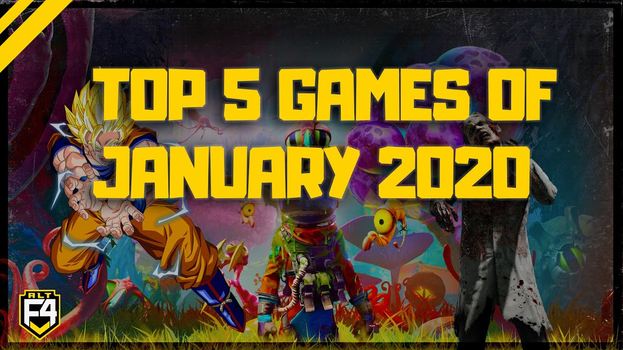 Top 5 New Games Coming In January 2020 Youtube