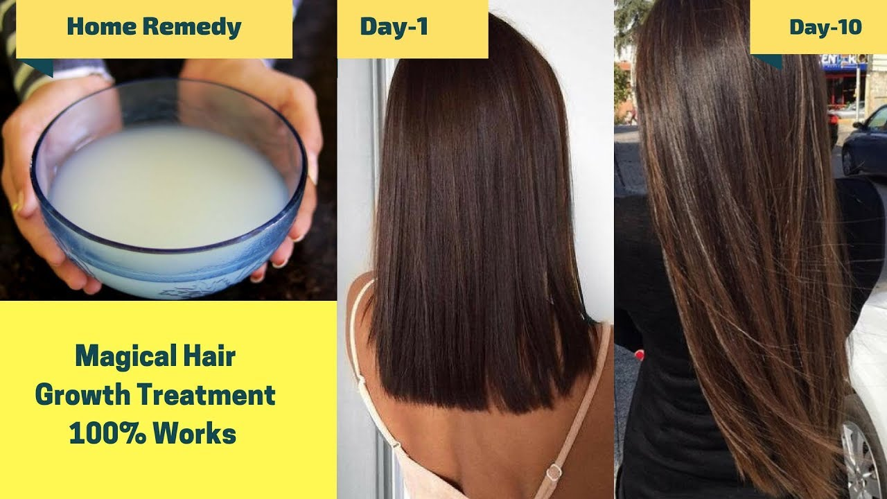 Image result for How To Grow Long and thicken Hair Naturally and Faster | Magical Hair Growth Treatment 100% Works Rinkal Soni