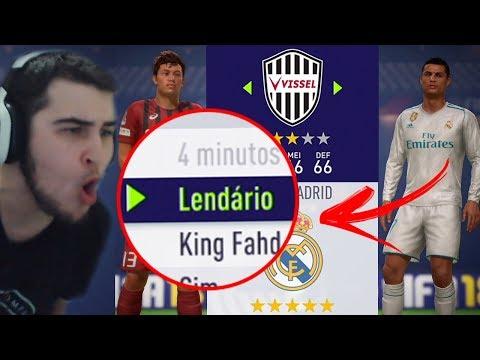 FIFA 18 - PIOR TIME DA DEMO vs REAL MADRID NO LENDÁRIO