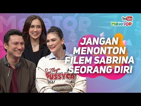 Cover Lagu Jangan menonton Filem Sabrina berseorangan kerana... | Luna Maya , Sara Wijayanto.. | MeleTOP HITSLAGU