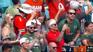 Georgia Tech vs. Miami Football Highlights (2019)