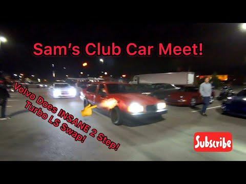 Sams Club Auto 2 >> Volvo Does Insane 2 Step Sam S Club Car Meet Youtube