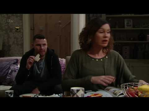 Aaron, Robert and Charity Get Under Chas's Skin - Emmerdale