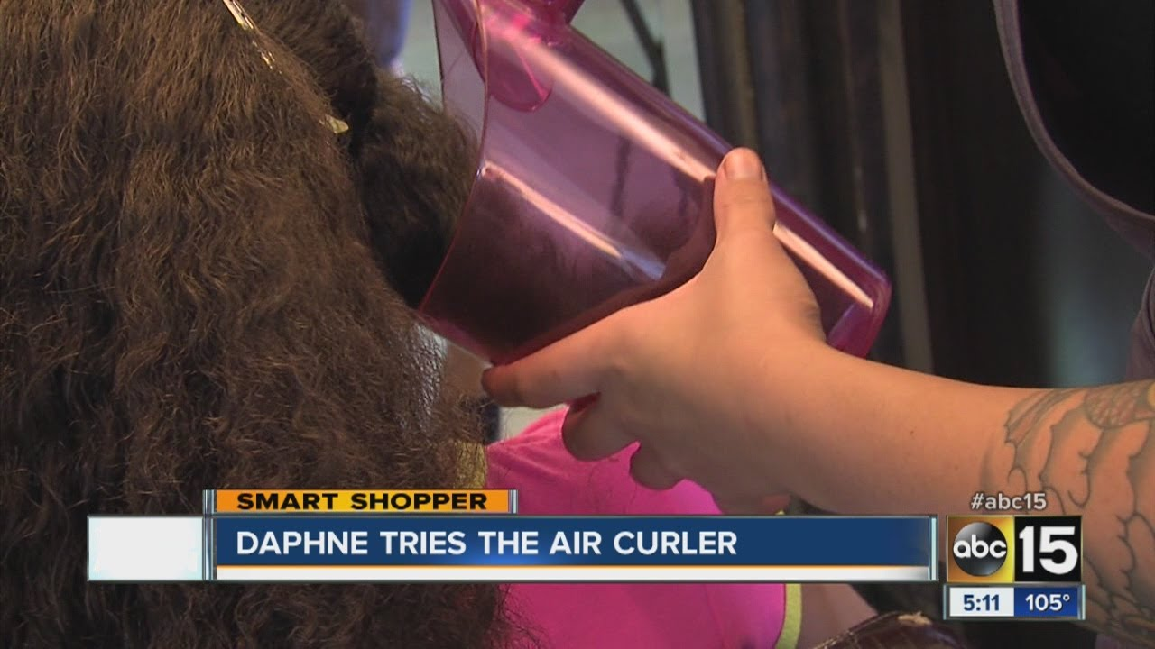 Air Curler put to the test - YouTube