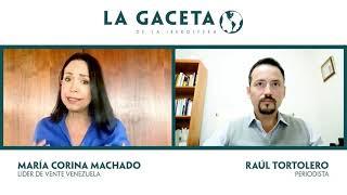 María Corina: 'Hay una operación geopolítica china para apoyar a los regímenes bolivarianos'