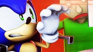 Sonic plays Baldi's Basics! (SFM Animation)