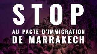 Stop au Pacte de Marrakech sur l'immigration. Voici pourquoi.