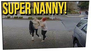 WS - Nanny Stops Thief From Stealing ft. Khalyla Kuhn, Gilbert Galon & DavidSoComedy