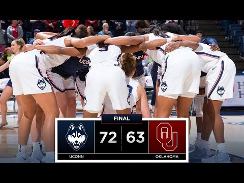 UConn Women's Basketball Highlights v. Oklahoma 12/19/2018