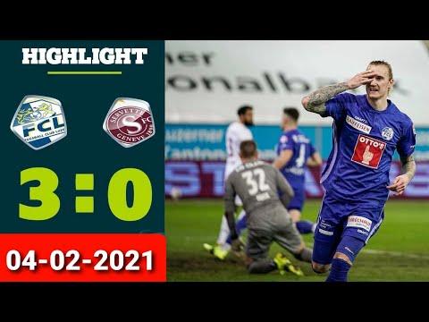 Luzern Servette Goals And Highlights