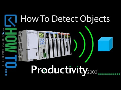 How To Detect Objects with a Productivity Series Controller