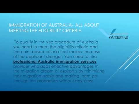 Hire Professional Australia Immigration Services - Immigration Overseas