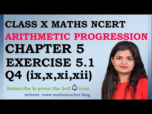 Chapter 5 Arithmetic Progression Ex 5.1 Q4(ix,xi,xi,xii) Class 10 Maths
