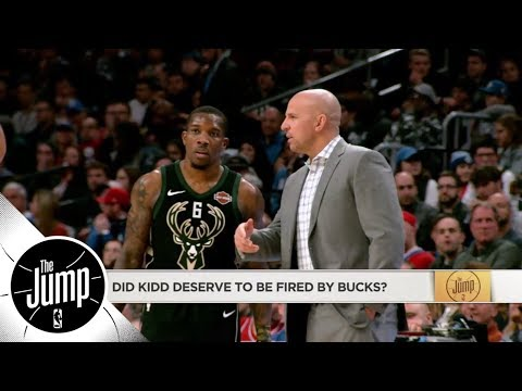 Did Jason Kidd deserve to be fired by Bucks? | The Jump | ESPN