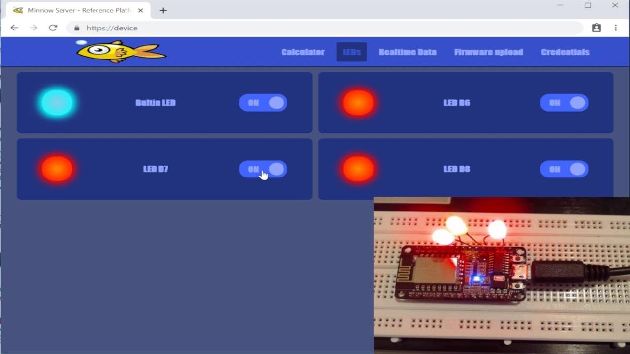 Embedded WebSocket Server
