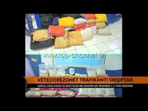Greqi, vetëdorëzohet trafikanti shqiptar - Top Channel Albania - News - Lajme