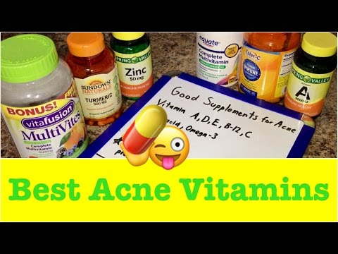💊Best Vitamins for Acne Prone Skin Review | Prevent Acne Breakouts | Multi-Vitamins Without Iodine