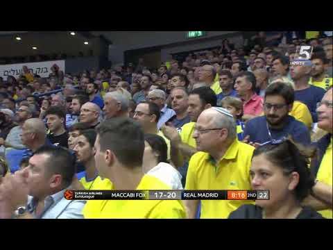 Recap: Maccabi FOX Tel Aviv 66 - Real Madrid 87