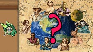 Elder Scrolls Races: Ręal Life Counterparts