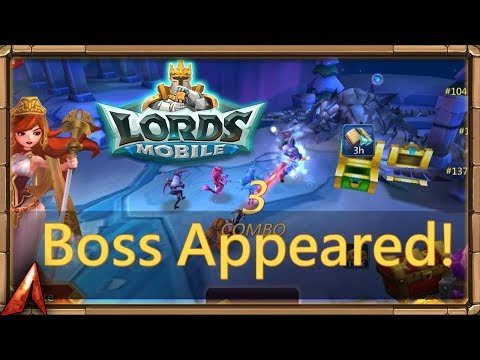 Lords Mobile: Labyrinth Boss Appears! Tons Of Gems!