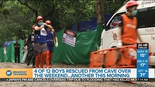 Fifth boy rescued from Thailand cave