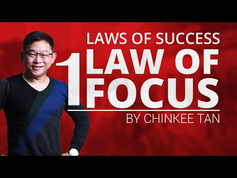 Laws Of Success Part 1 Law Of Focus | Tips For Success