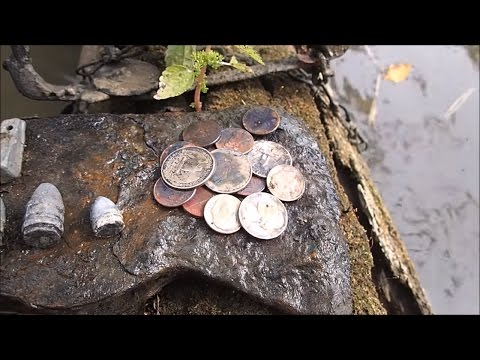 Thumbnail: I Found A Stolen Coin Spill In The River!