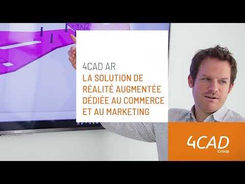 4CAD AR : la solution de réalité augmentée dédiée au commerce et au marketing