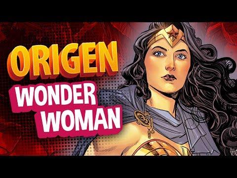 El verdadero origen de WONDER WOMAN, la amazona de Themyscira segun DC Comics