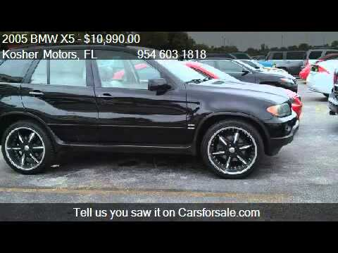 2005 Bmw X5 3 0i Pan Roof Custom Rims Lo For Sale In